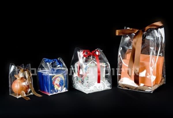 שקיות פלסטיק קשיחות עם בסיס