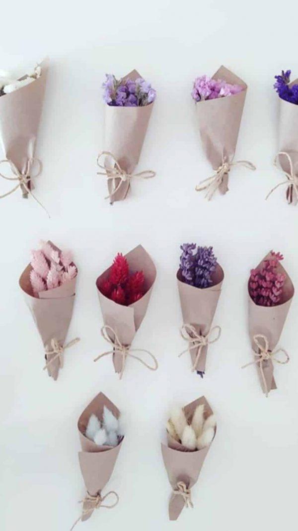בוקה מפרחים מיובשים